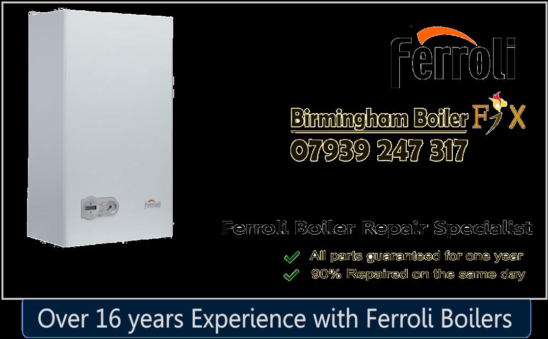 Ferroli banner birmingham boiler fix pnp